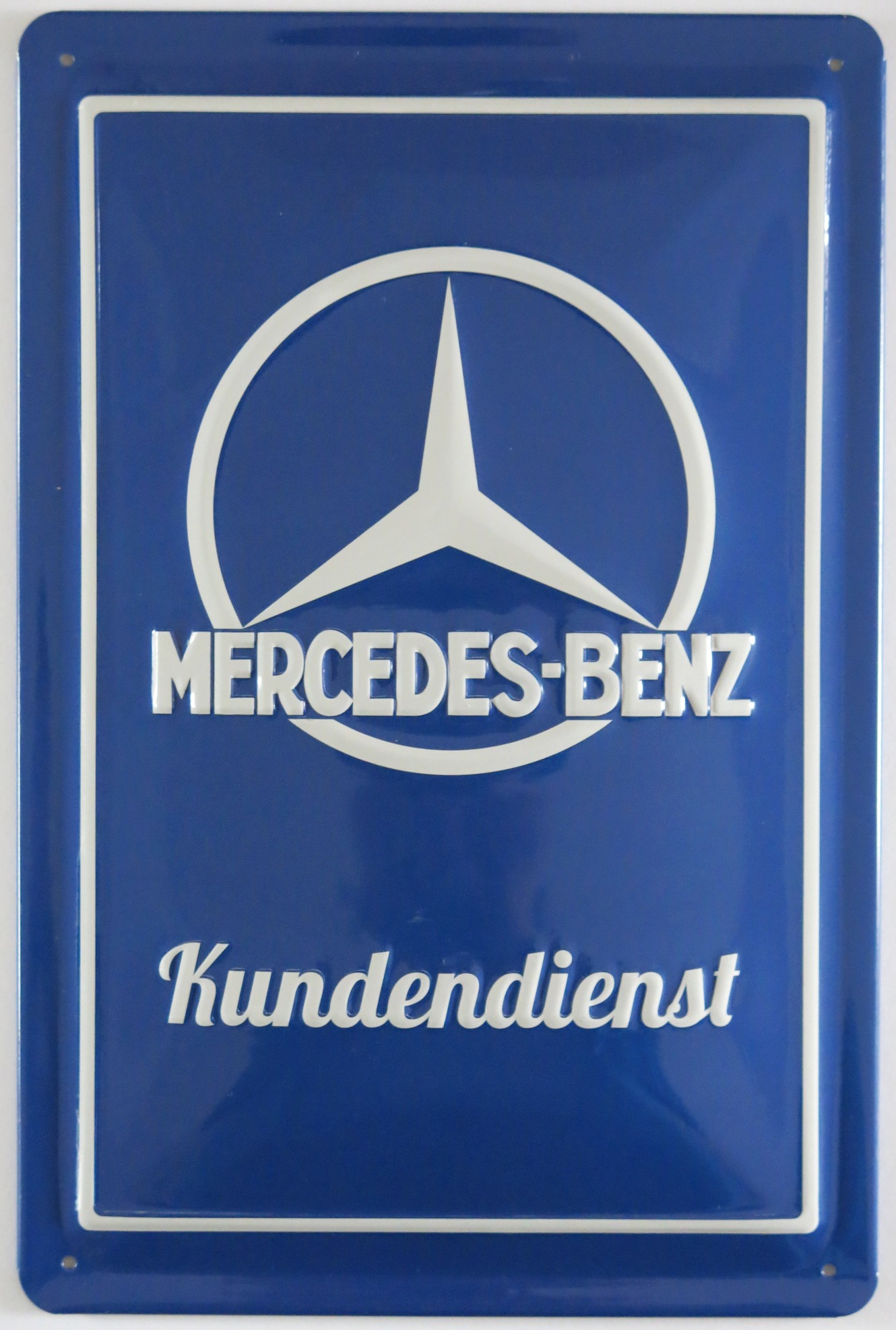 Mercedes service center metal sign ebay for Mercedes benz customer service email address